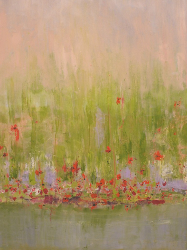 Poppies 2013 - Original Oil 30 x 40
