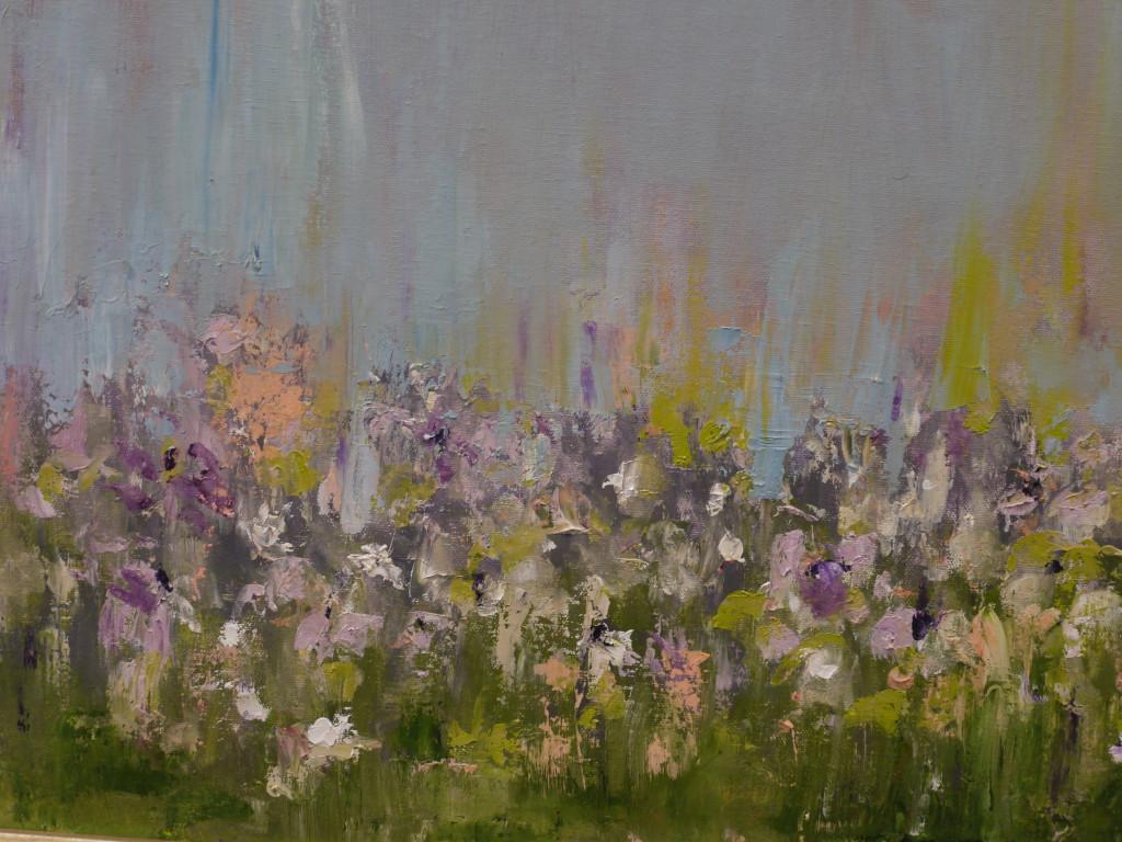 Vineyard Wildflowers II - Original Oil 16 x 20