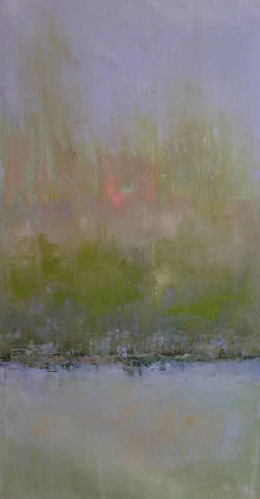 Light on the Lake - Original Oil 24 x 48