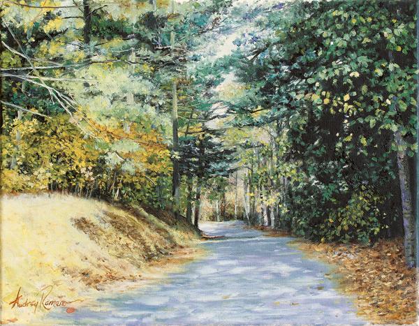 Audrey's Path - Original Oil  11 x 14