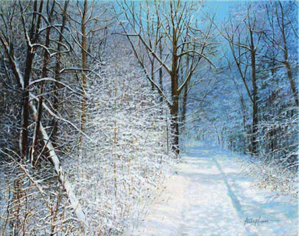 Winter Journey - Original Oil  20 x 24