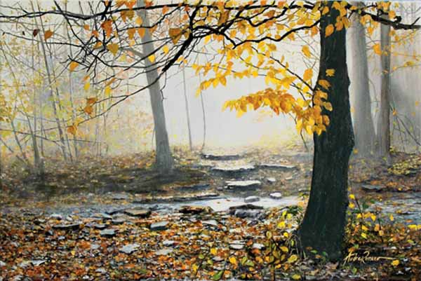 Morning Mist Original Oil  24 x 36