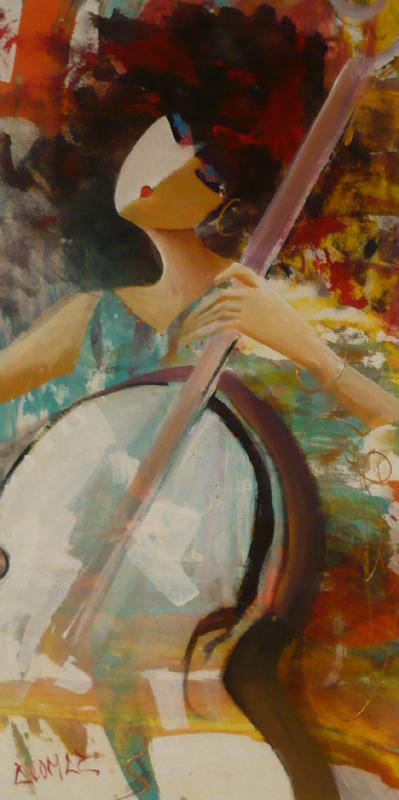 Concerto I - Original Oil 18 x 36