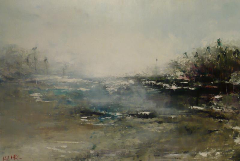 Palmaras - Original Oil 40 x 60
