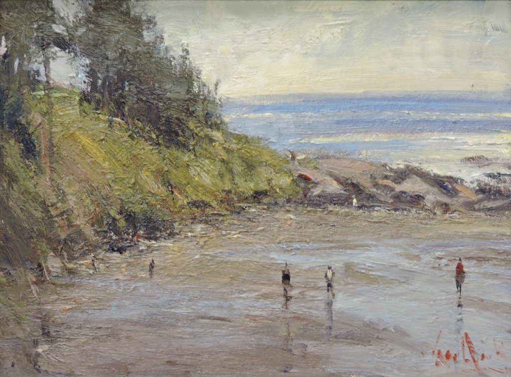 Shell Searching - Original Oil 9 x 12